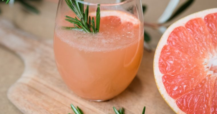 Rosemary Grapefruit -Mock-tail