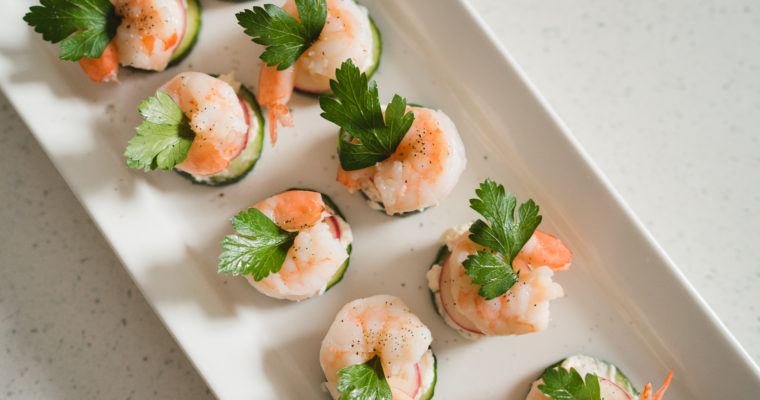 Cucumber Shrimp Appetizer